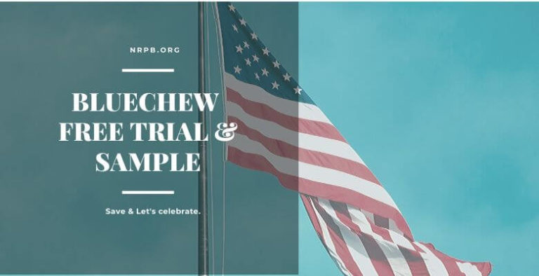 BlueChew Free Trial Sample Coupon