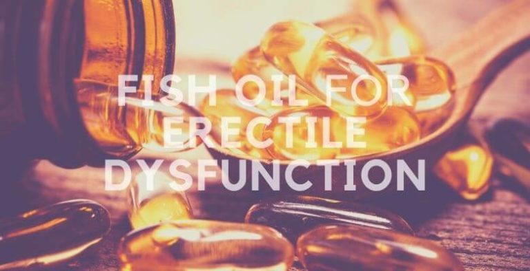 Fish Oil for Erectile Dysfunction